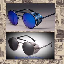 Mesh Sided Vintage Style Sunglasses