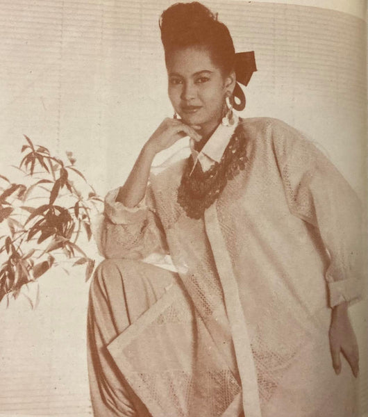 Journey of the Barong Tagalog, 20th Century Philippines Part 23: Renee Salud