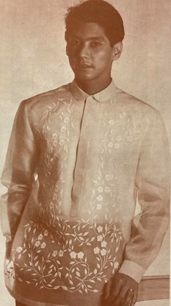 Journey of the Barong Tagalog, 20th Century Philippines Part 33: Chito Antonio