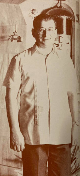 Journey of the Barong Tagalog, 20th Century Philippines Part 11: The Polo Barong