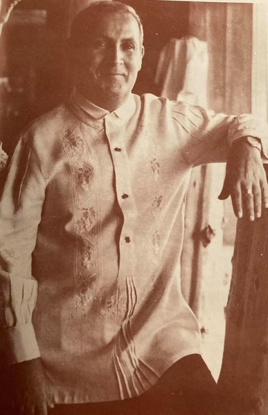 Journey of the Barong Tagalog, 20th Century Philippines, Part 18: Giovanni Sanna