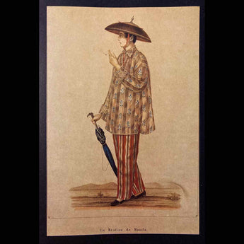 Journey of the Barong Tagalog, Spanish Colonial Philippines Part 10: Late 18th Century Men's Fashion Changes