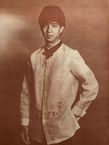 Journey of the Barong Tagalog, 20th Century Philippines Part 35: Joe Salazar
