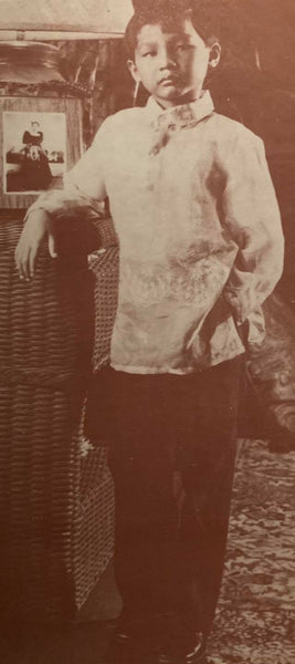 Journey of the Barong Tagalog, 20th Century Philippines Part 36: Patis Tesoro