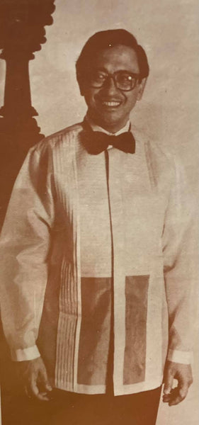 Journey of the Barong Tagalog, 20th Century Philippines, Part 16: Ben Farrales