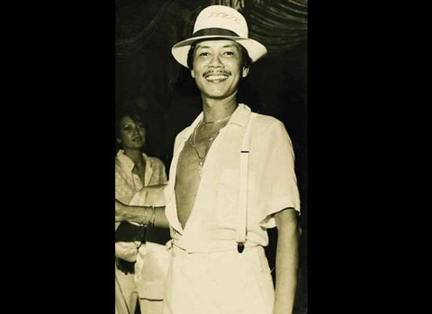 Ernest Santiago at Coco Banana, his Manila night club, in the late 1970's from Lifestyle.inq