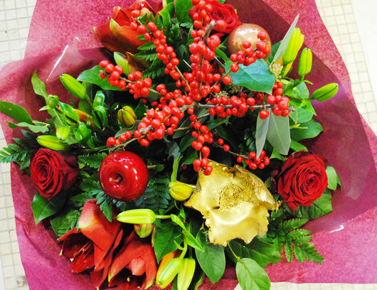 Christmas Bouquet Red Mix