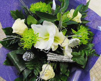 Christmas Bouquet White Mix