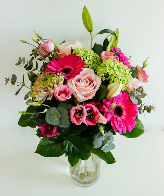 Mothers Day: Colourful pinks