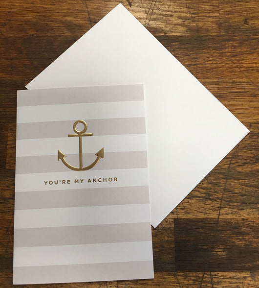My Anchor Valentines Card