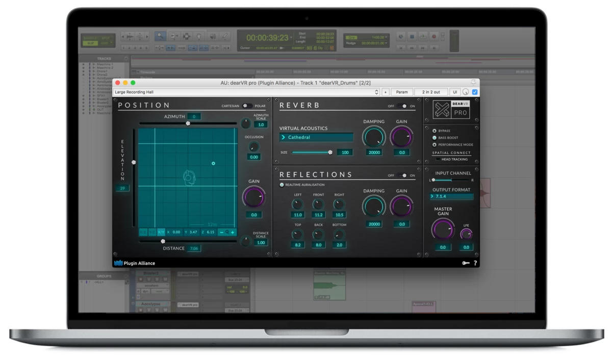 The all-in-one VST/AU/AAX spatial audio plugin