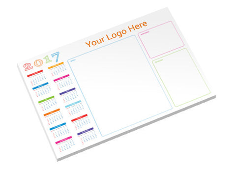 A3 Personalized Desk Jotter Pads