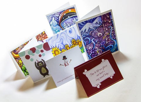4pp A5 Greeting Cards