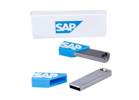 16GB Branded USB Stick with PVC Sleeve and Printed Box