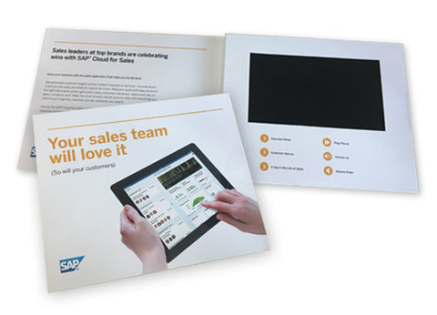 SAP® SuccessFactors® Partner Templated A5 Video Packs: 7'' Screen, Landscape Format