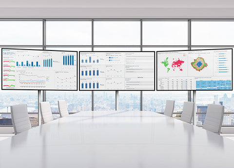 Samsung Screens for Digital Boardroom Presentation (Non Touch Screen)