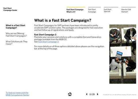 Fast-Start Campaign for SAP® Cloud Platform