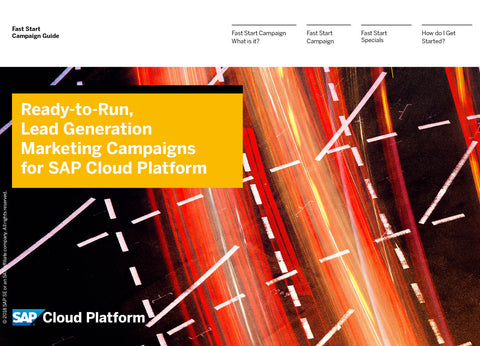 SAP Qualified Partner-Packaged Solutions – LinkedIn Campaign