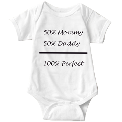 100% Perfect  Infant Onesie | Sarcastic ME