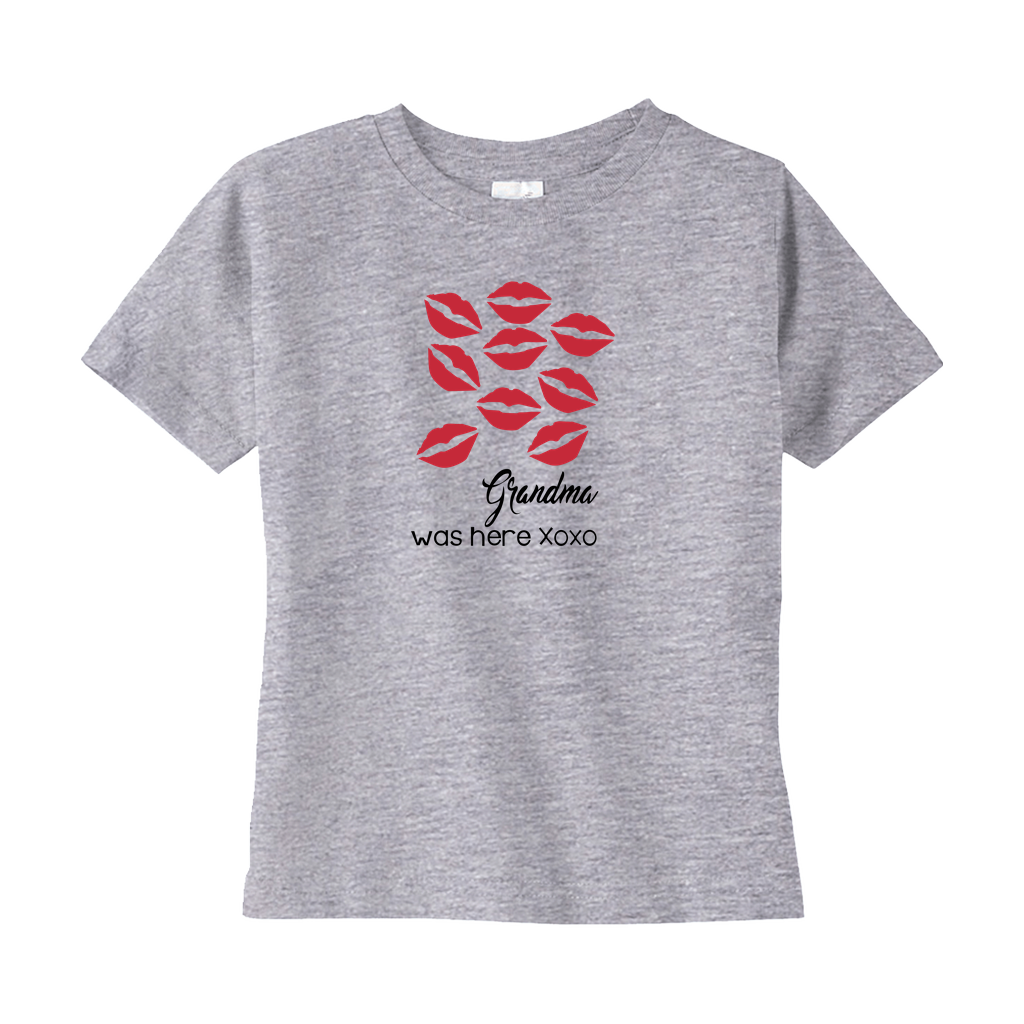 Grandma Was Here Toddler Tee