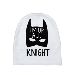 I'm Up All Knight Baby Beanie
