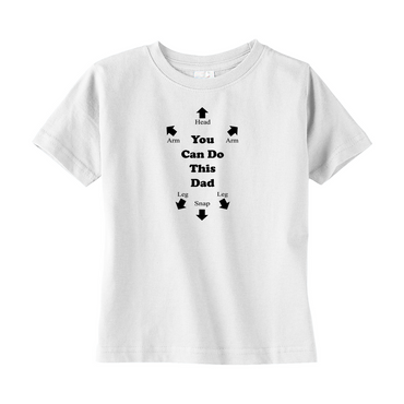 You Can Do This Dad Toddler Tee