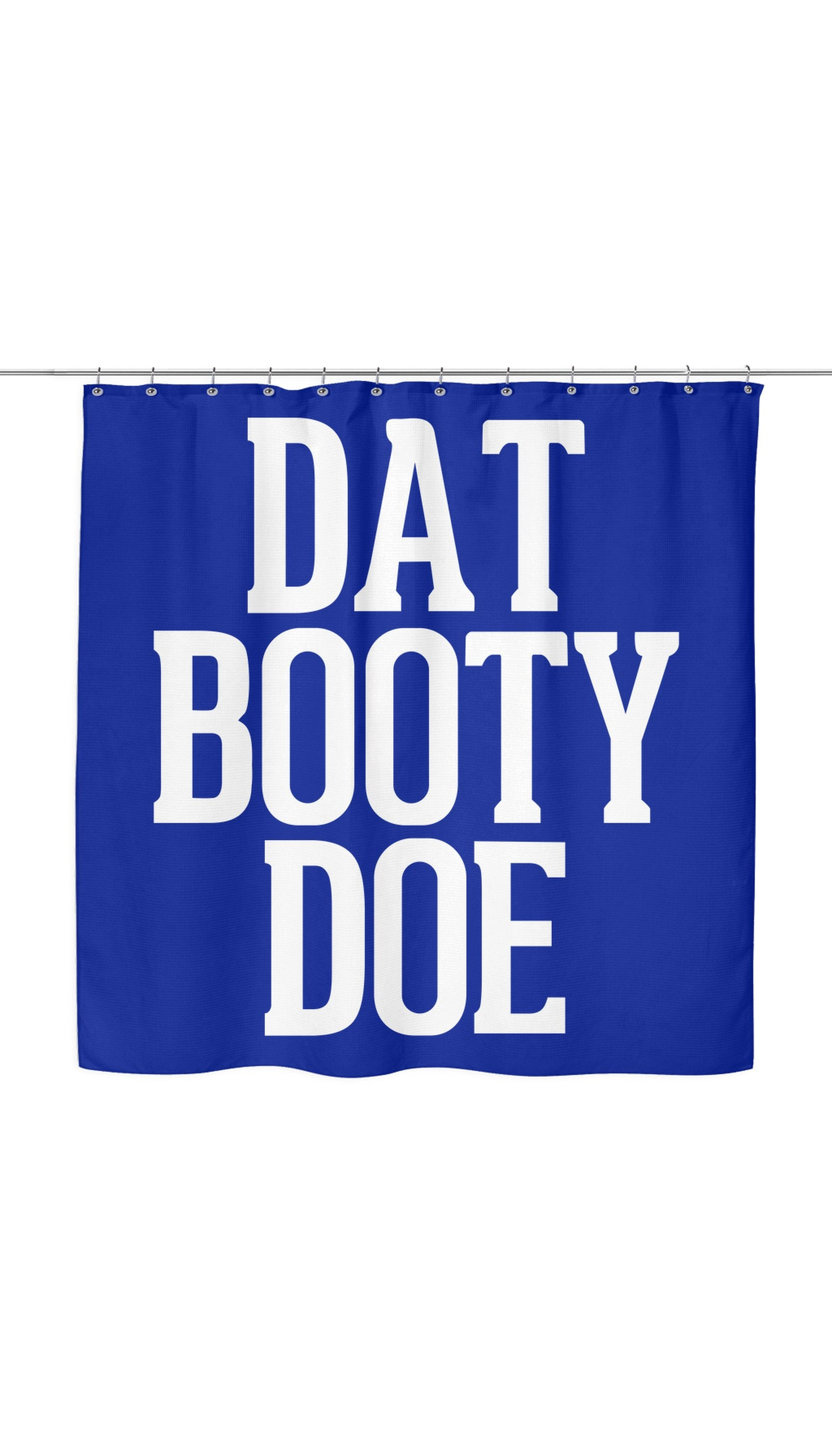 Dat Booty Doe Shower Curtain