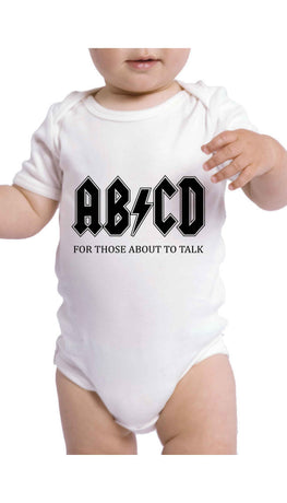 ABCD Funny Baby Infant Onesie