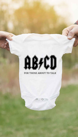 ABCD Funny Baby Infant Onesie | Sarcastic ME
