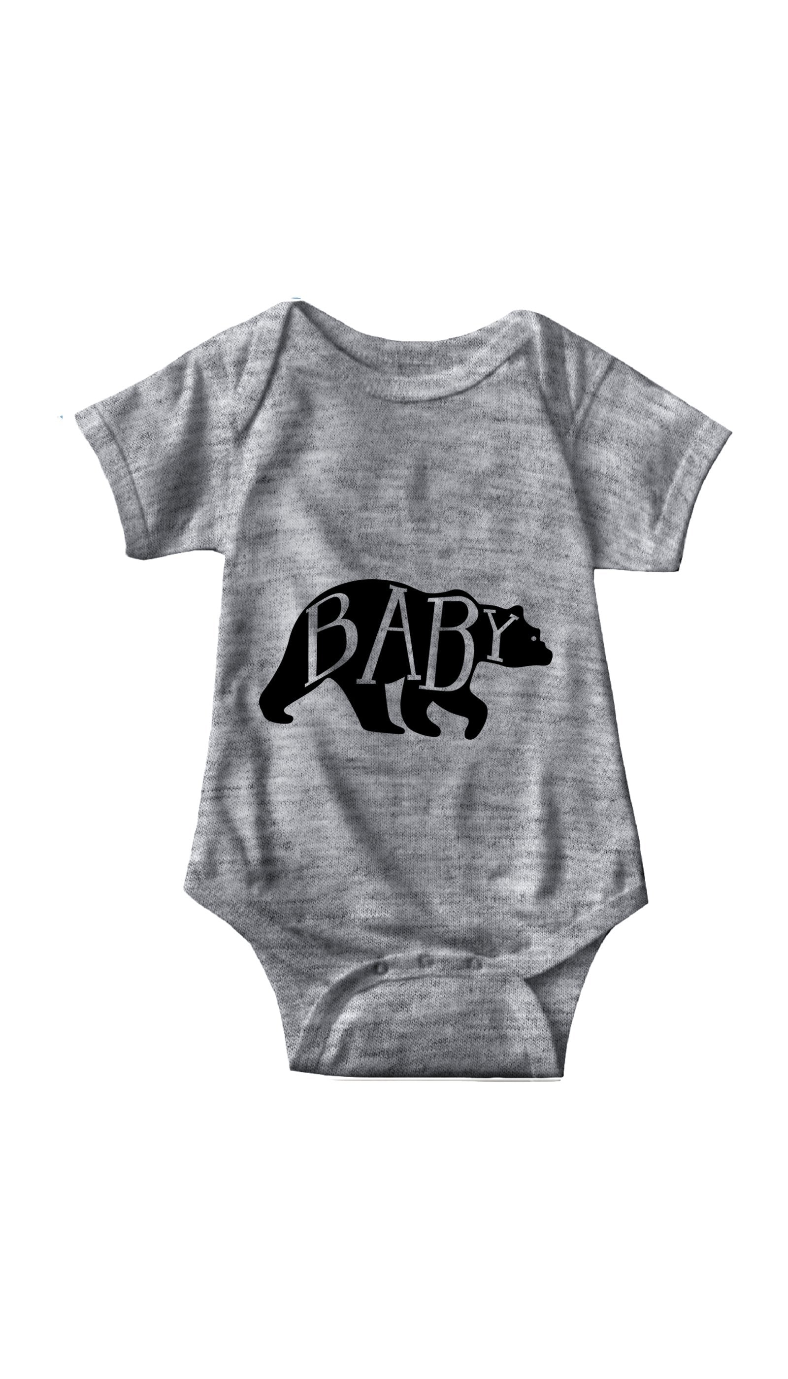 Baby Bear Gray Infant Onesie | Sarcastic ME