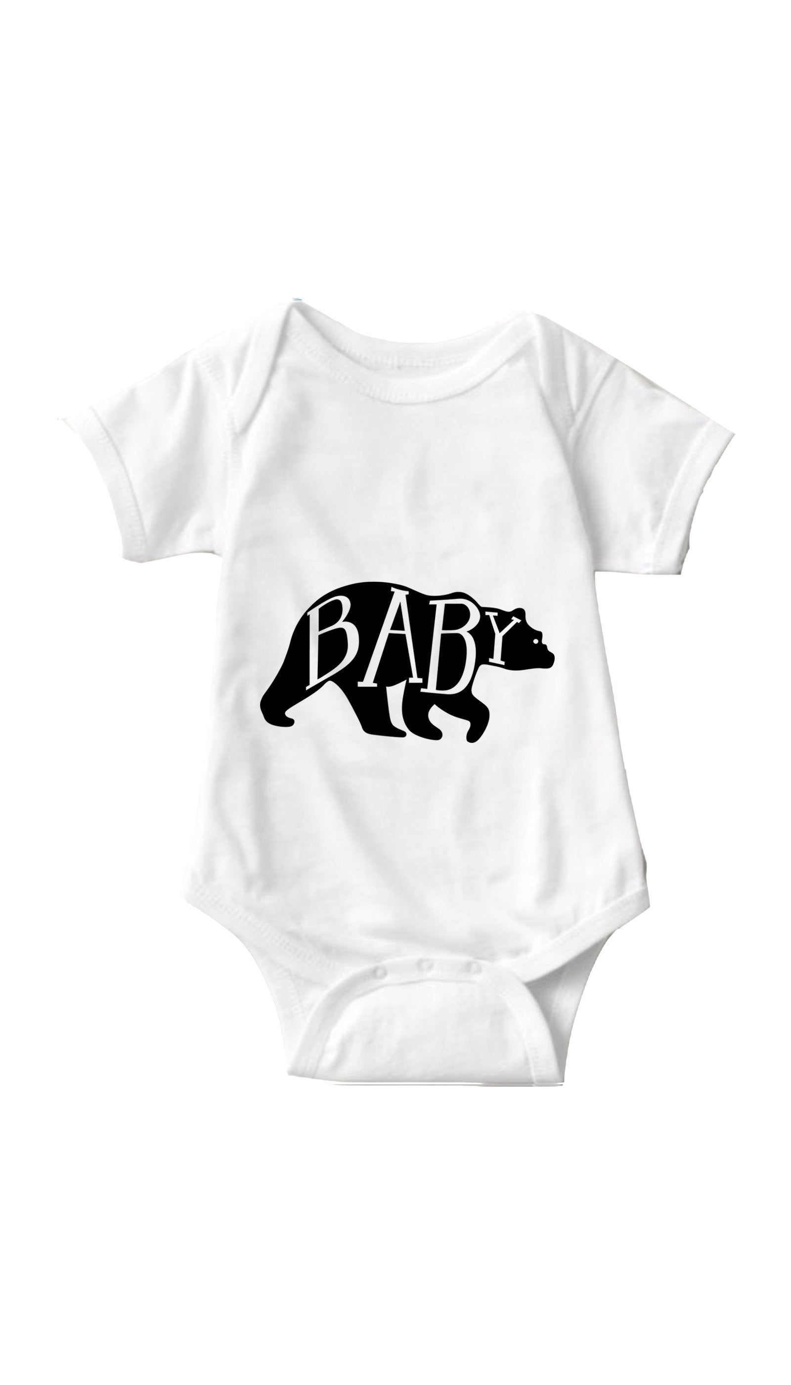 Baby Bear White Infant Onesie | Sarcastic ME