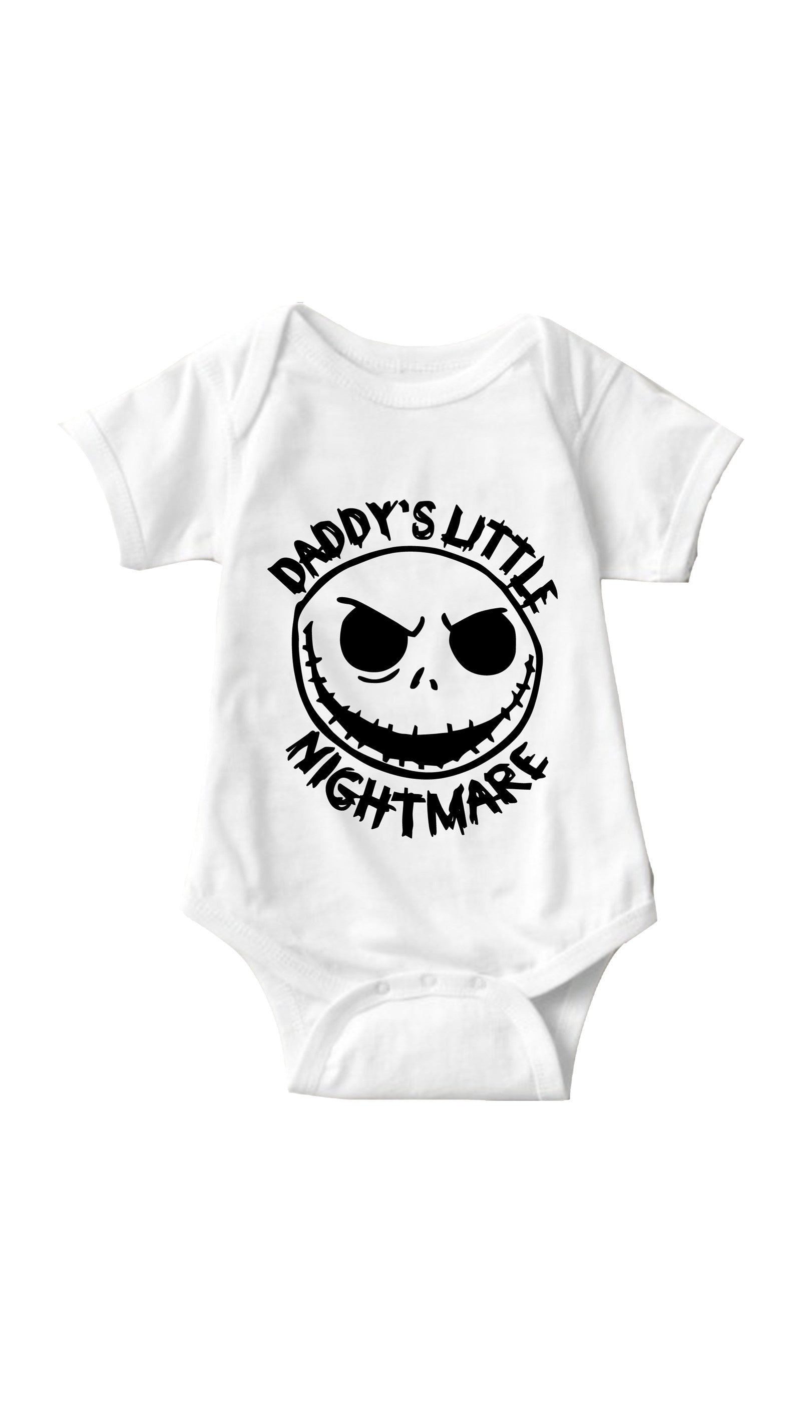 Daddy's Little Nightmare White Infant Onesie | Sarcastic ME