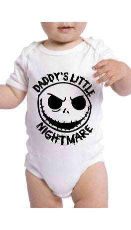 Daddy's Little Nightmare Funny Baby Infant Onesie