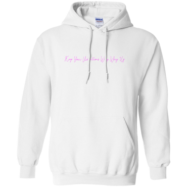 Vibrations Hoodie - White
