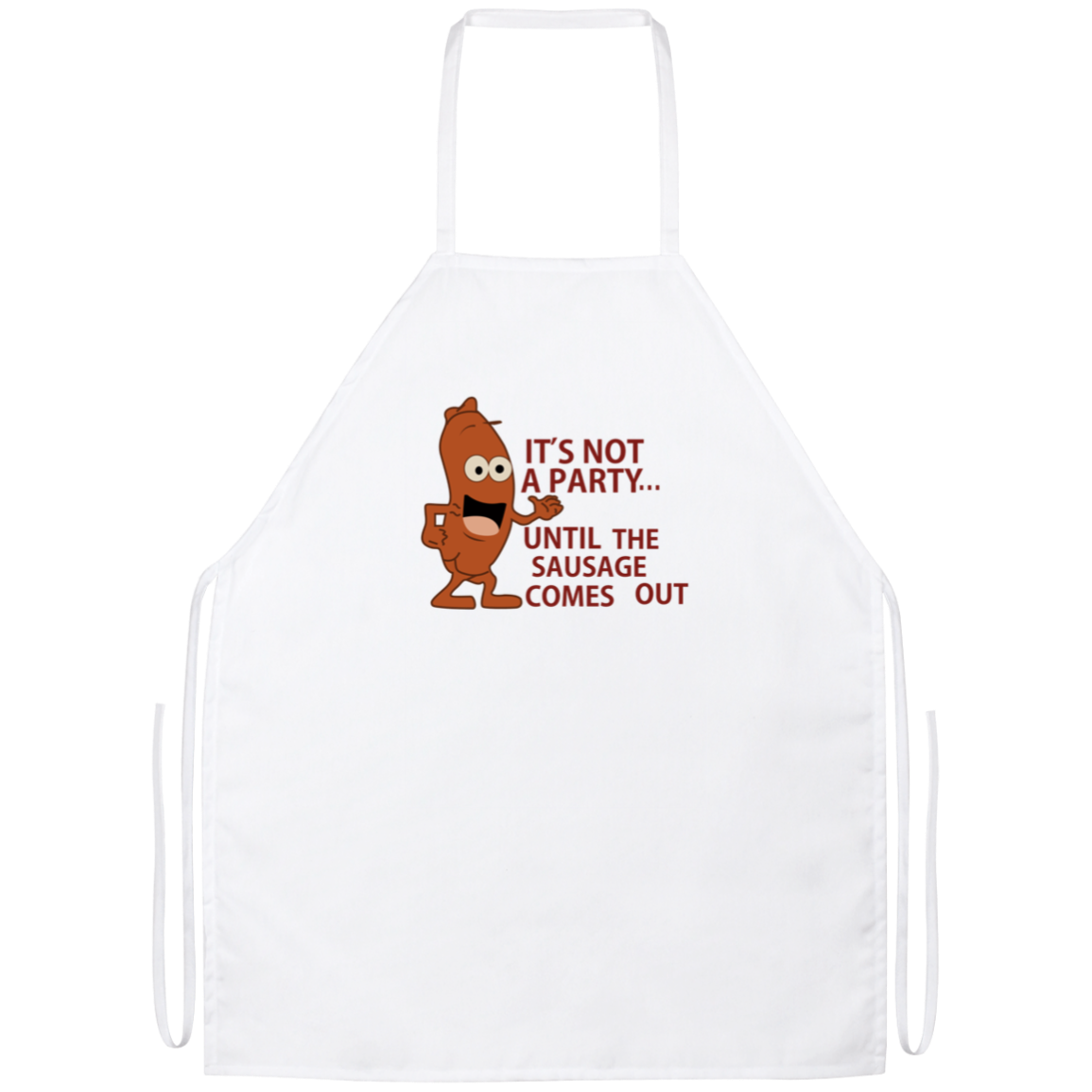 It's Not A Party Apron