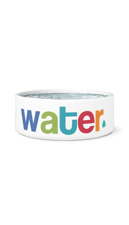 Water White Pet Bowl | Sarcastic Me