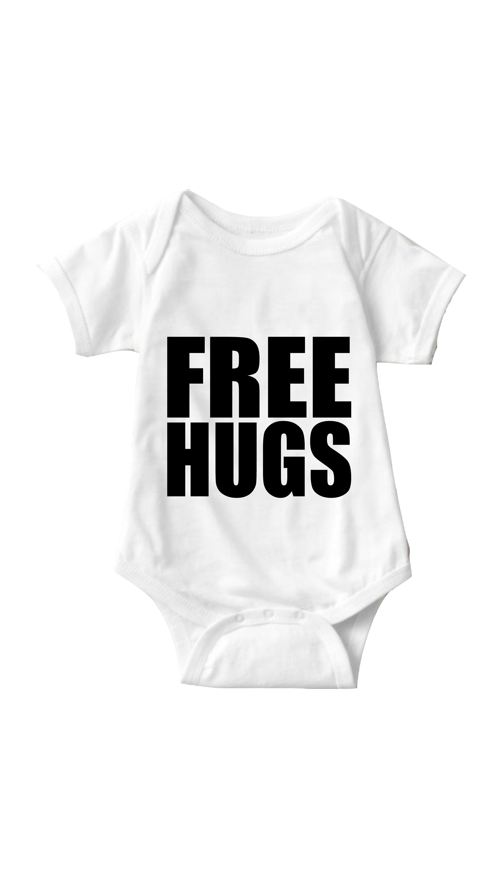 Free Hugs White Infant Onesie | Sarcastic ME