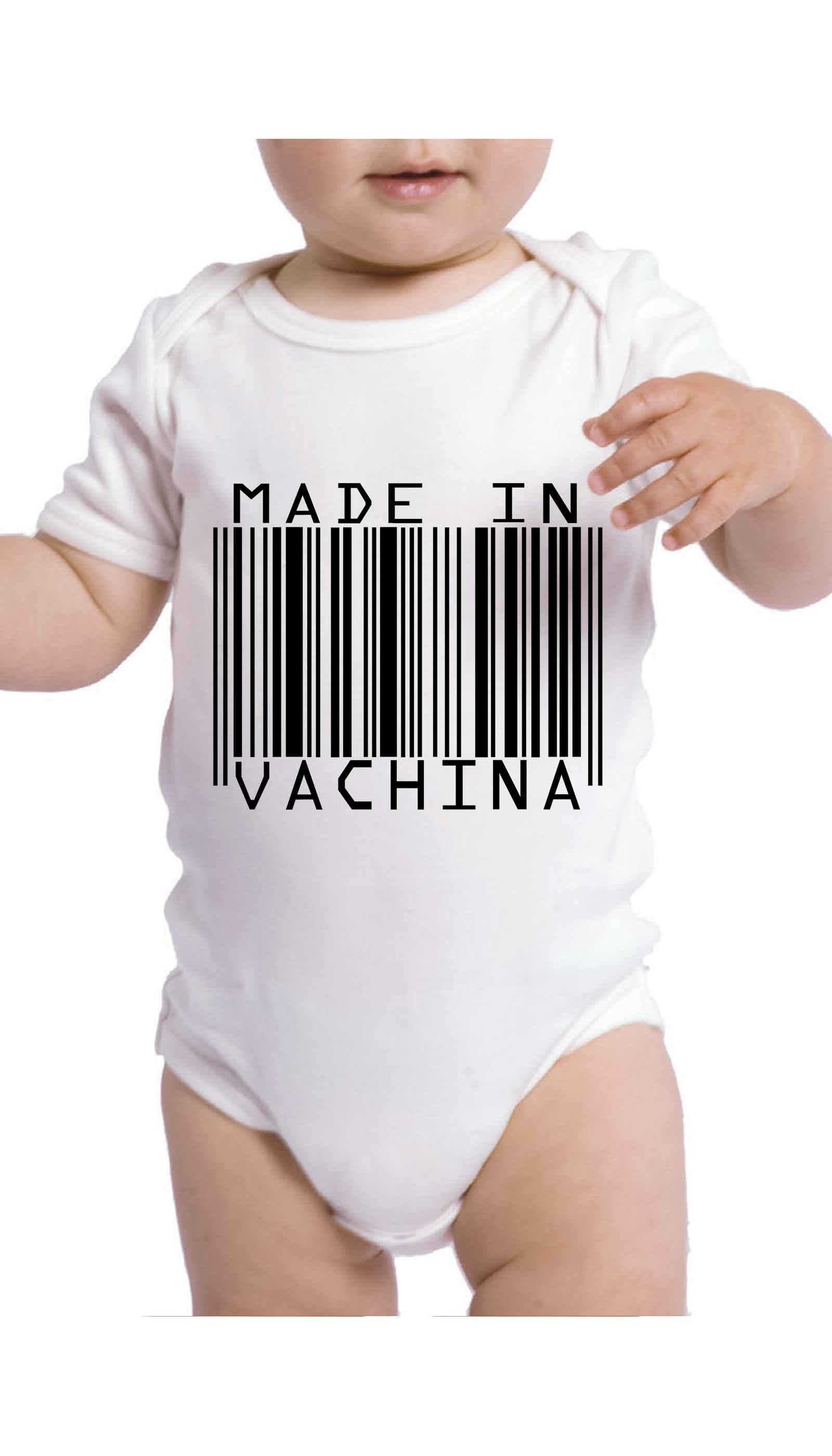 Made In Vachina Cute & Funny Baby Infant Onesie | Sarcastic ME
