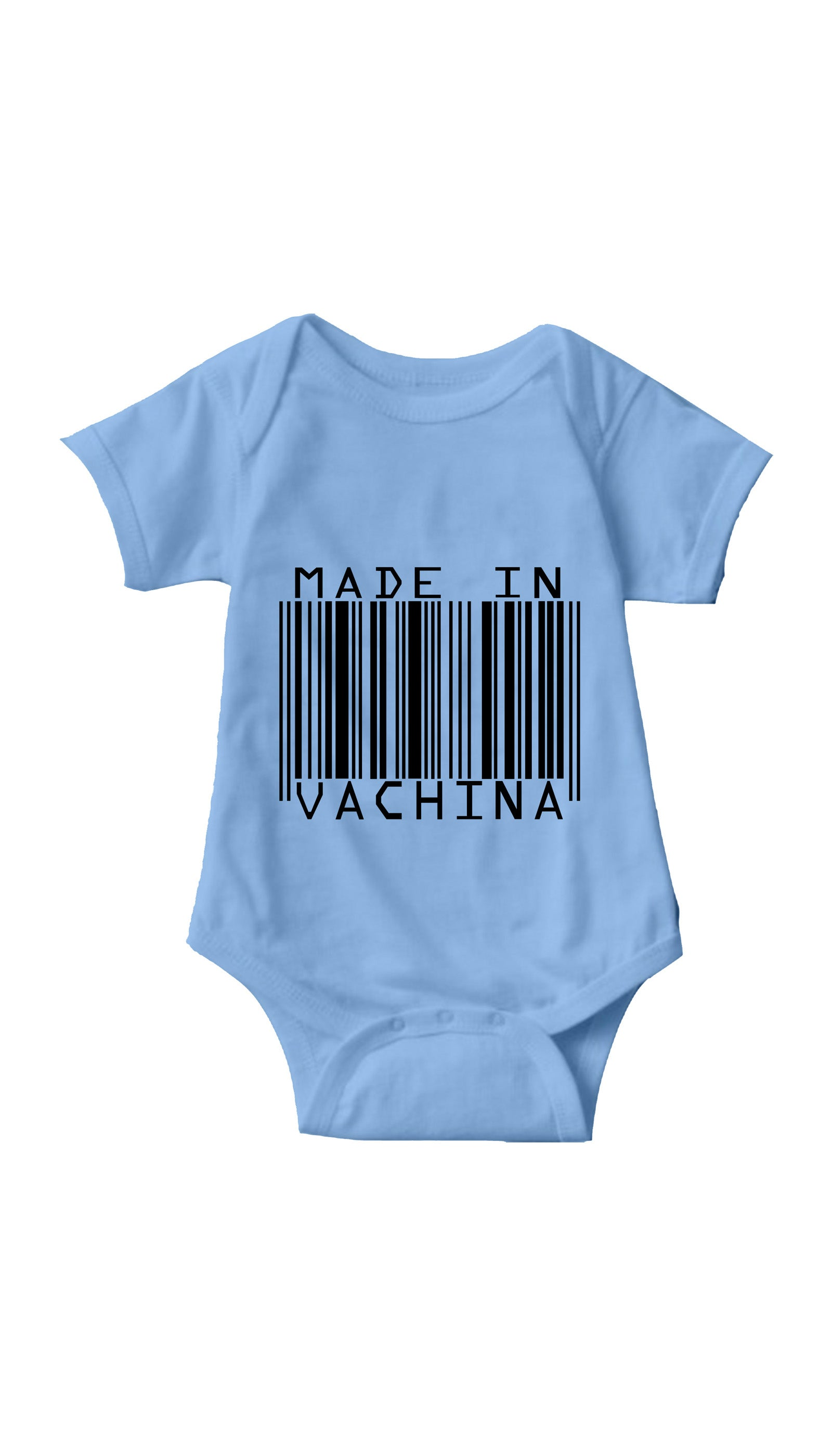 Made In Vachina Light Blue Infant Onesie | Sarcastic ME