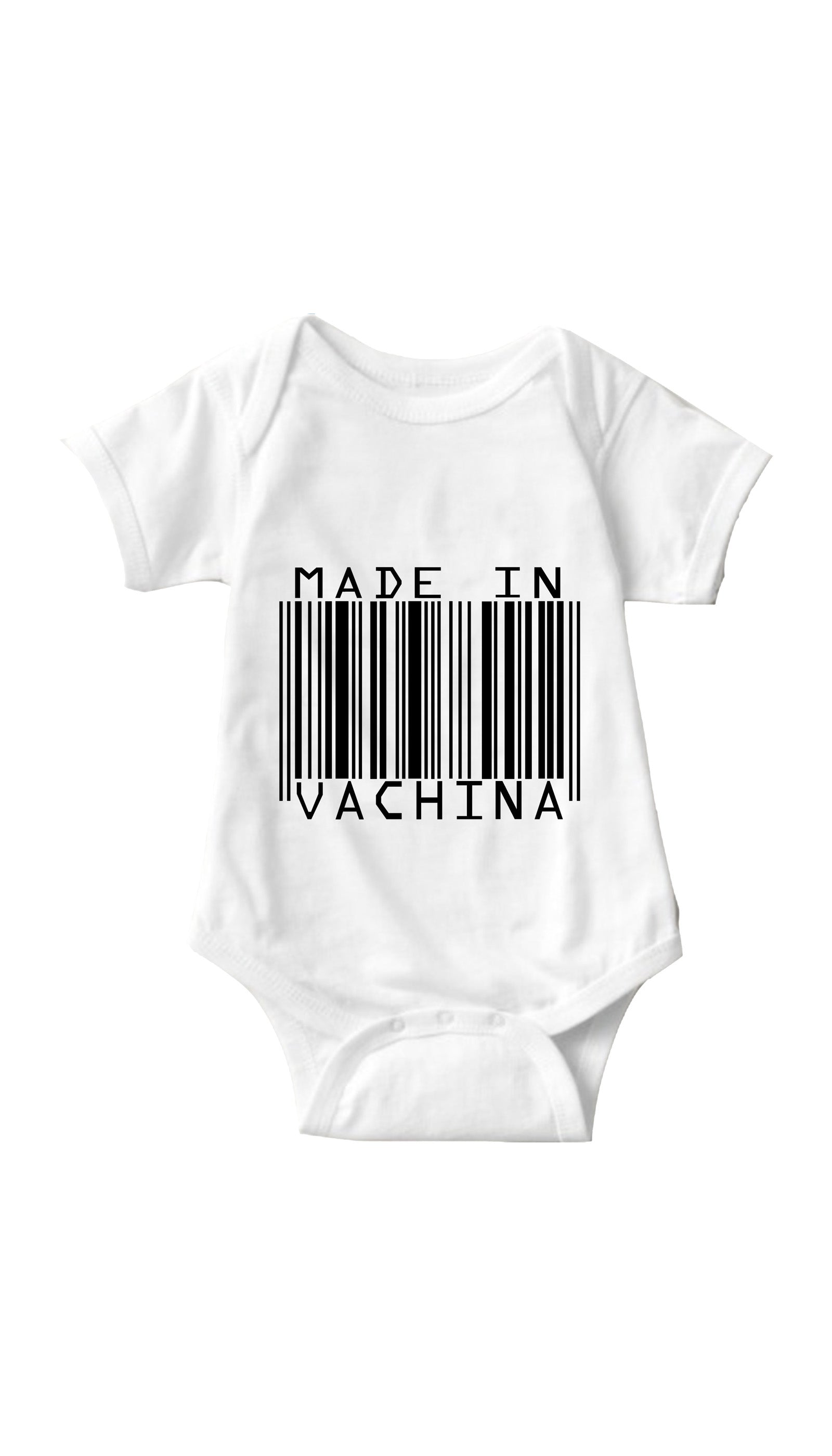 Made In Vachina White Infant Onesie | Sarcastic ME