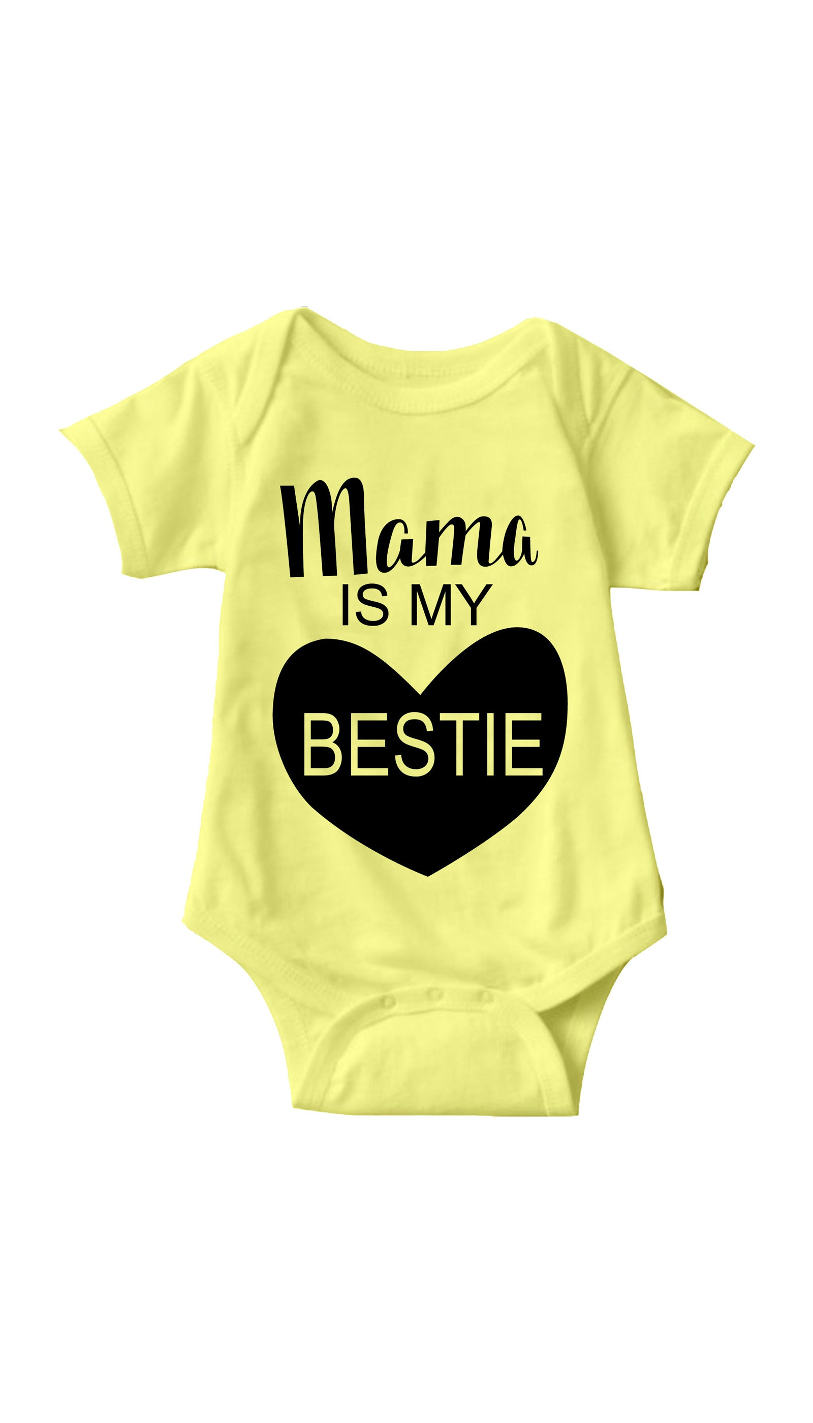 Mama Is My Bestie Infant Onesie
