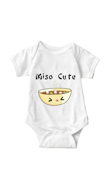 Miso Cute White Infant Onesie | Sarcastic ME