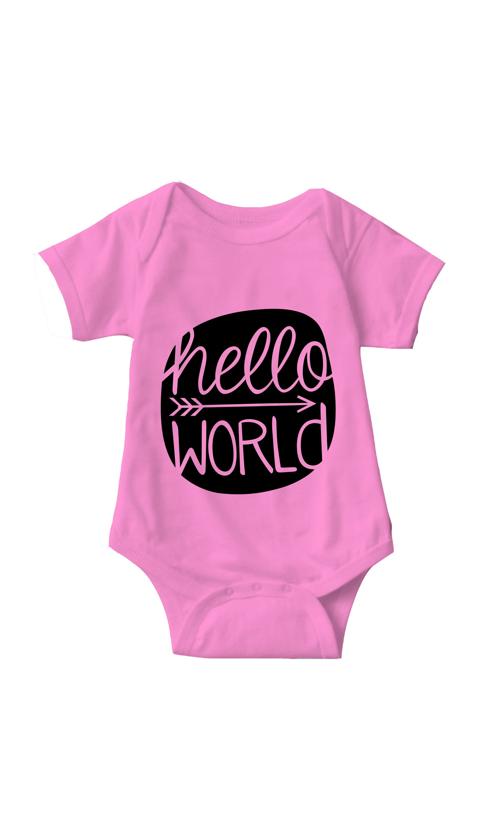 Hello World Infant Onesie