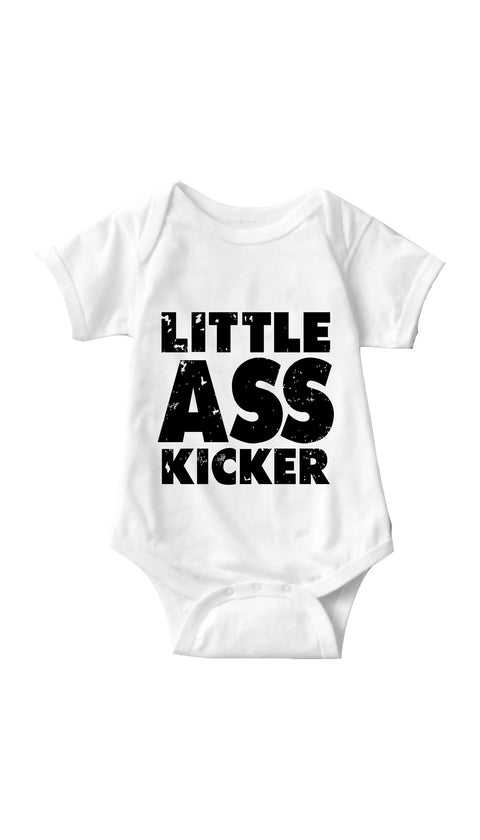 Little Ass Kicker White Infant Onesie | Sarcastic ME