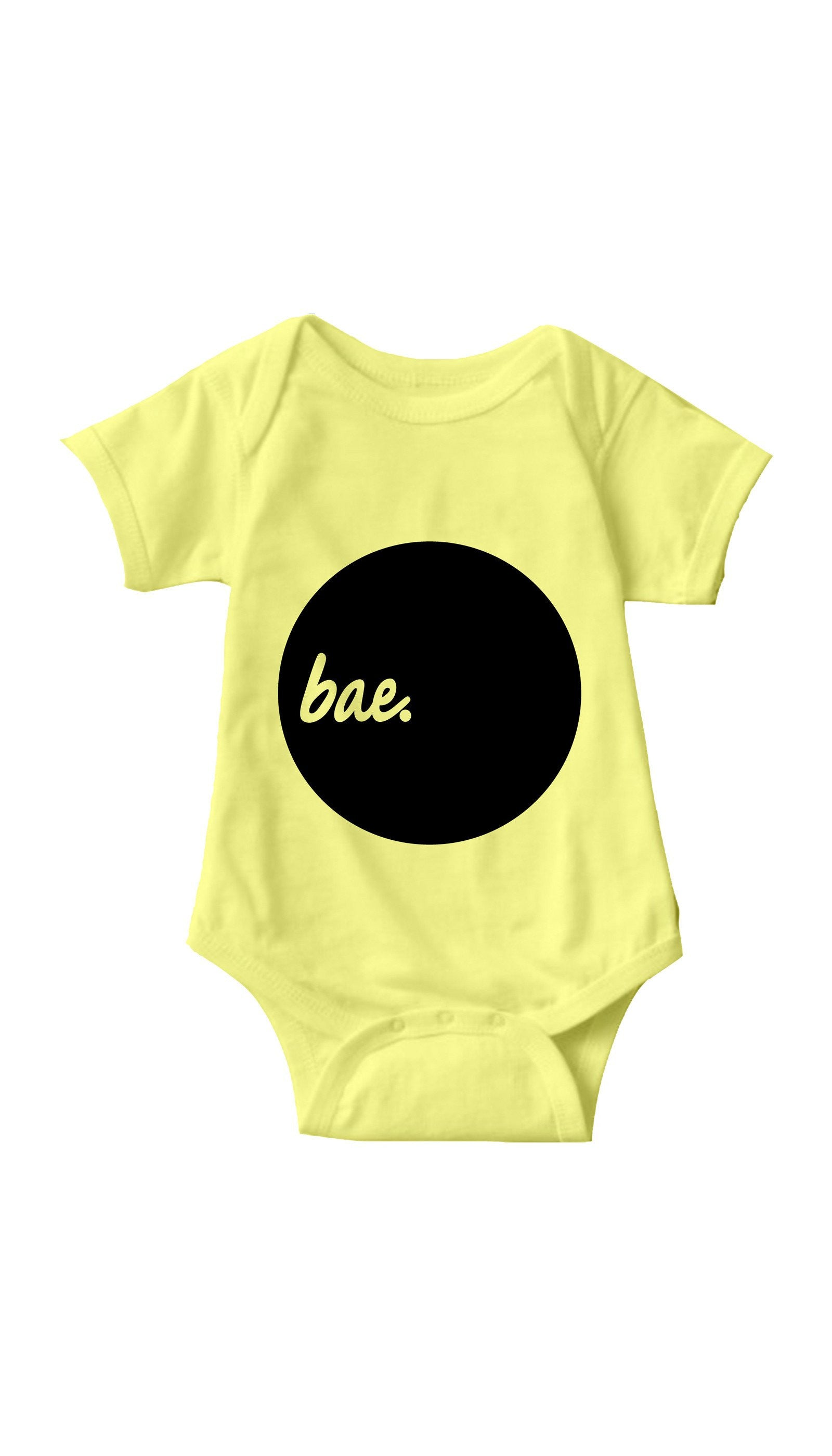Bae Yellow Infant Onesie | Sarcastic ME