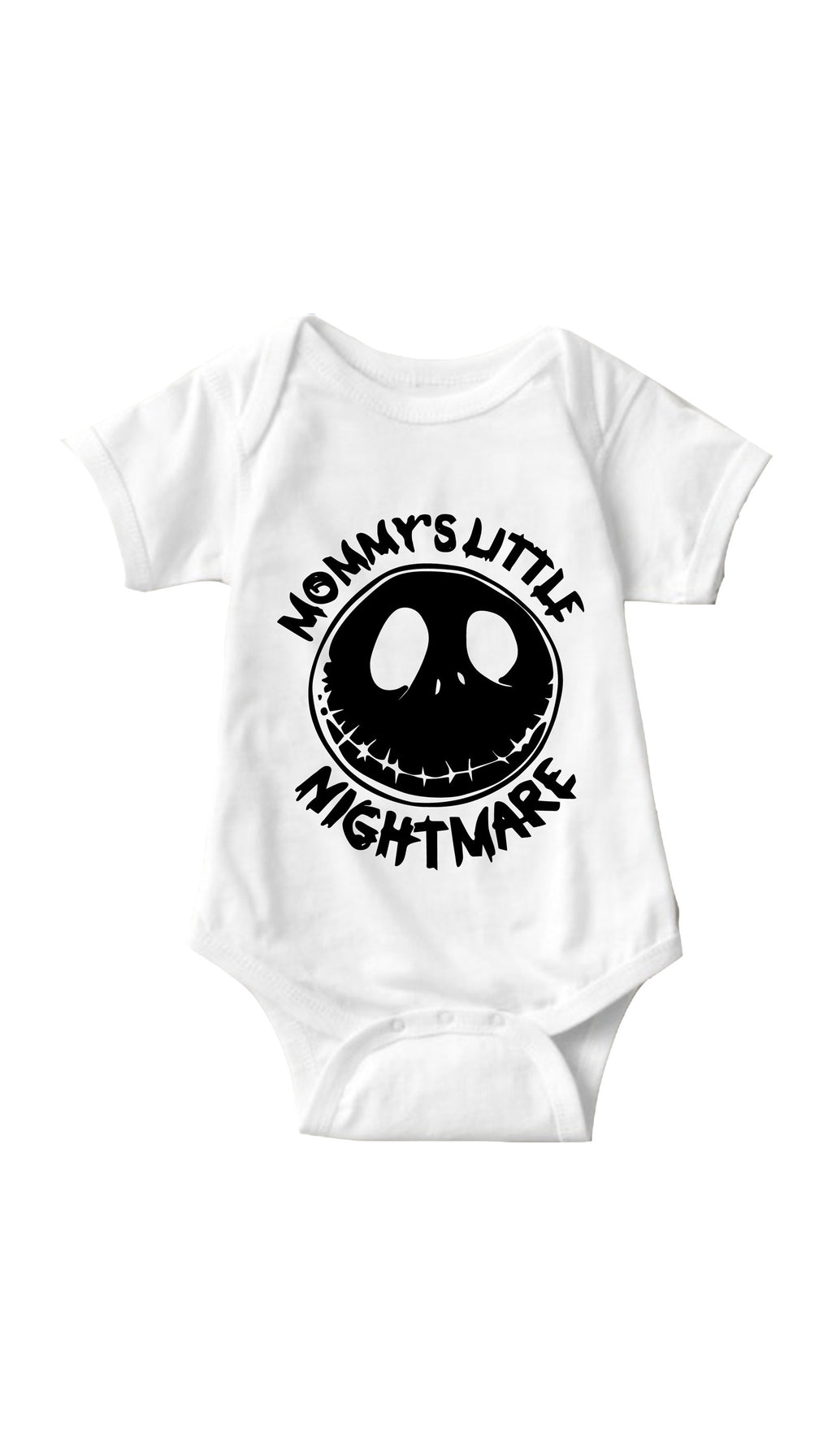 Mommy's Little Nightmare White Infant Onesie | Sarcastic ME