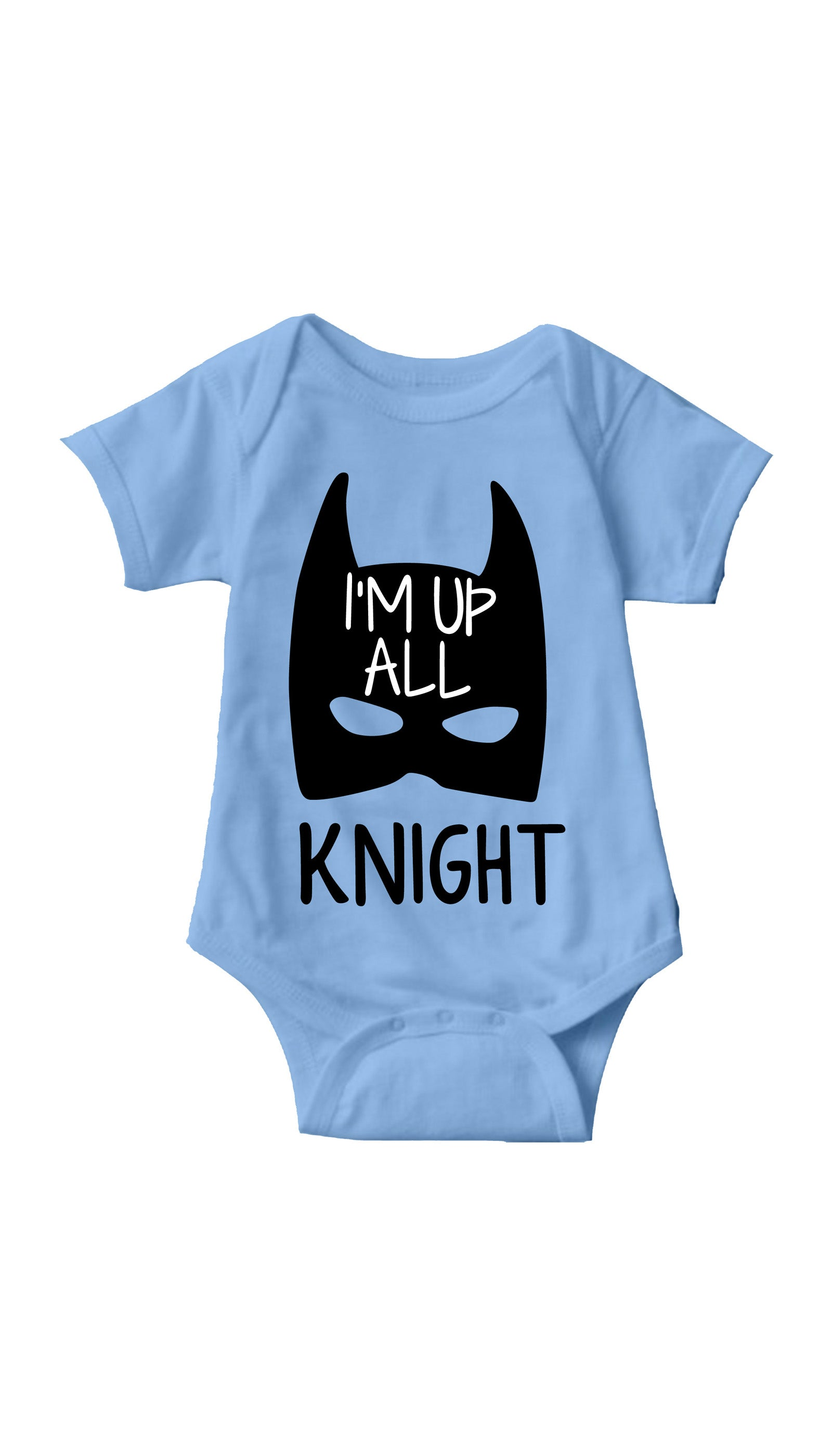 I'm Up All Knight Blue Infant Onesie | Sarcastic ME