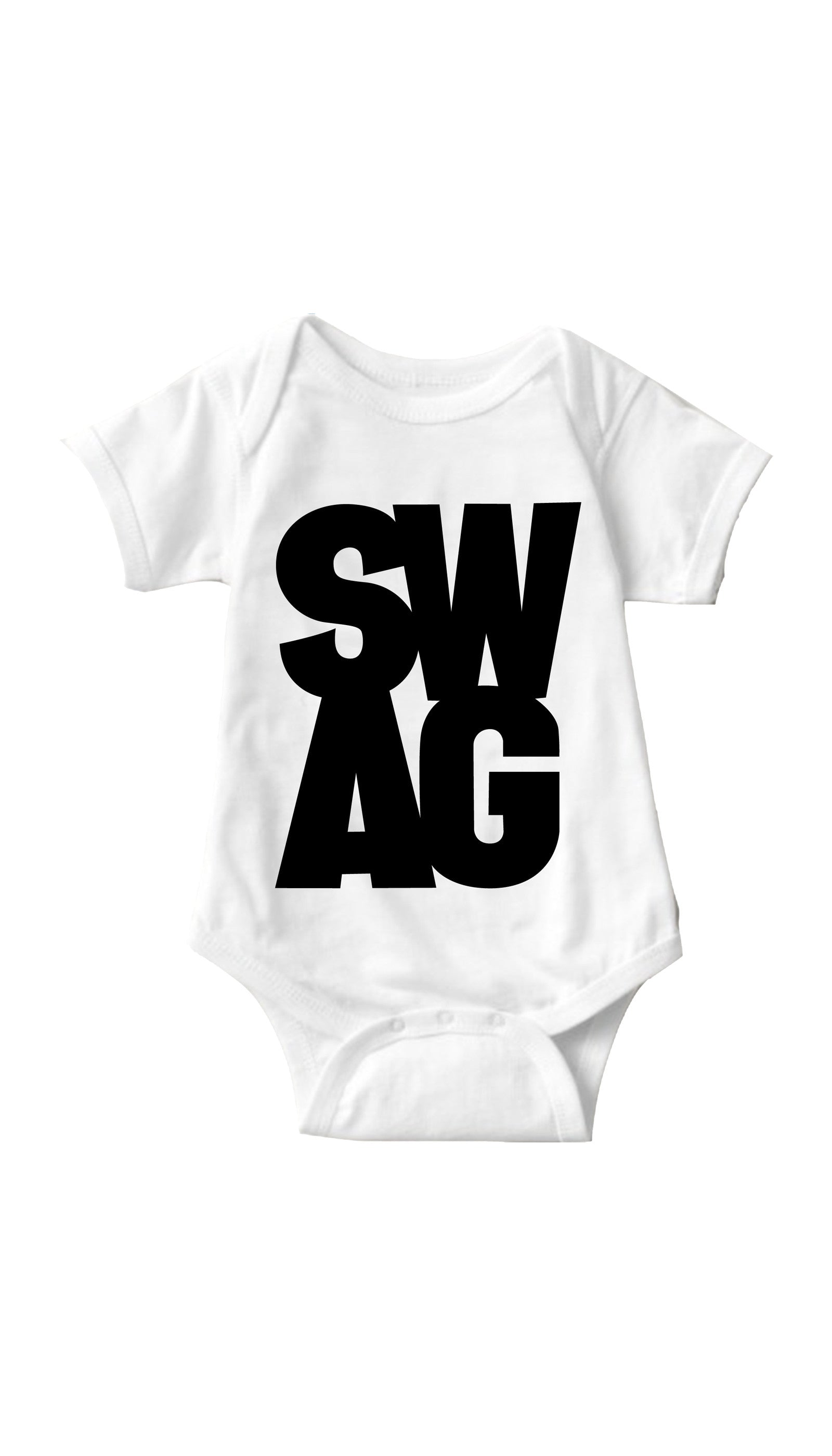 Swag White Infant Onesie | Sarcastic ME