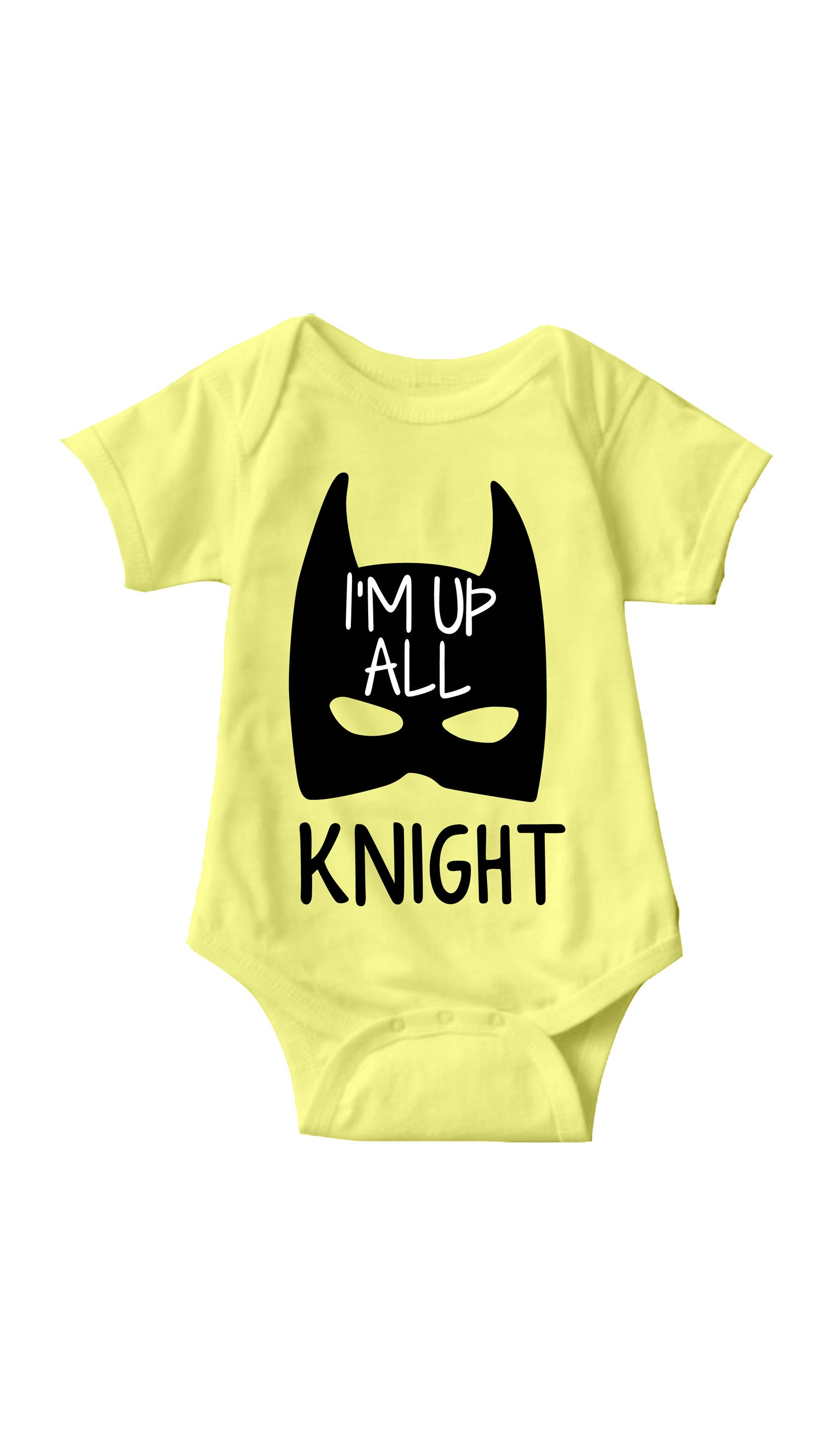 I'm Up All Knight Yellow Infant Onesie | Sarcastic ME