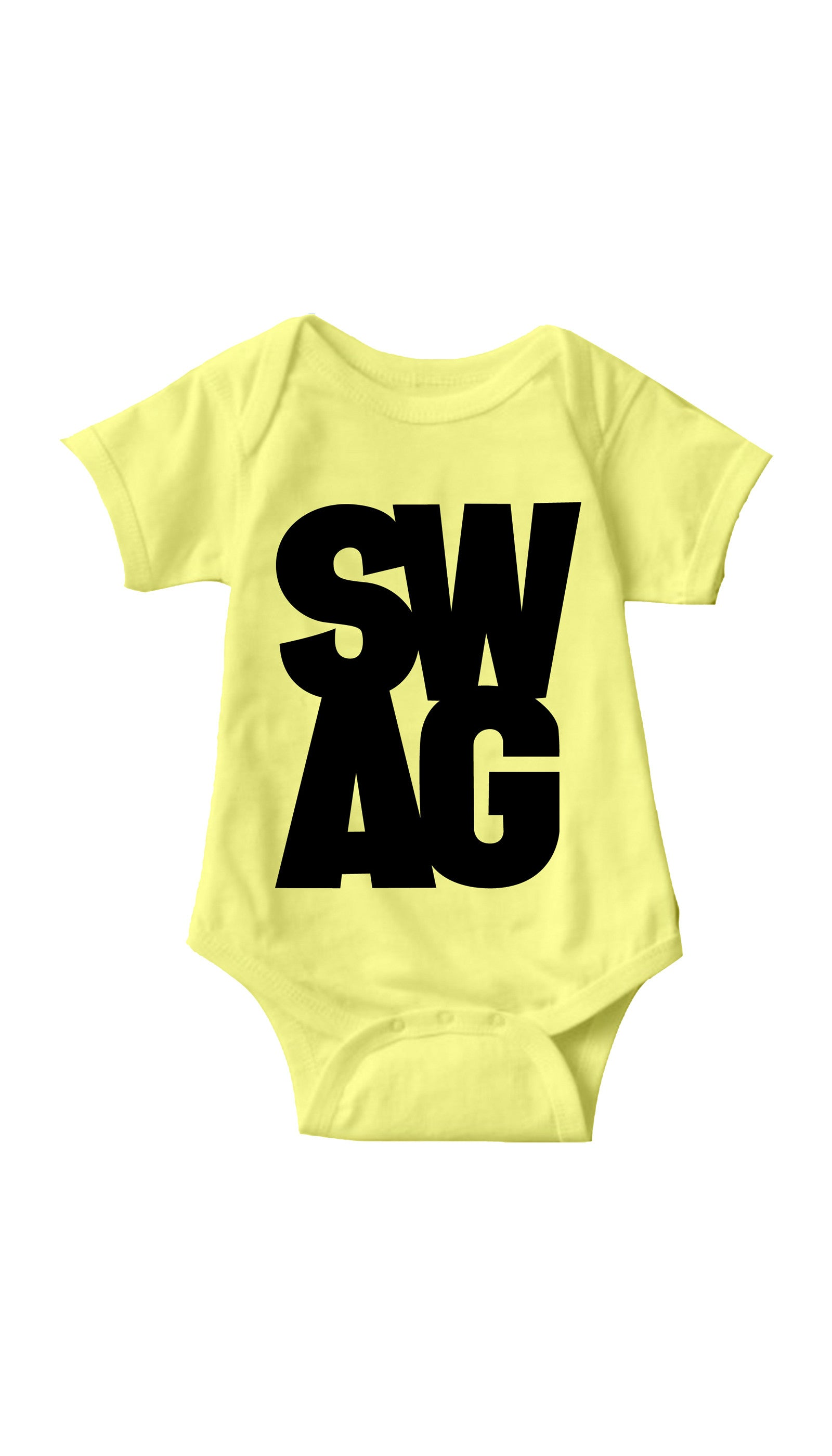 Swag Yellow Infant Onesie | Sarcastic ME